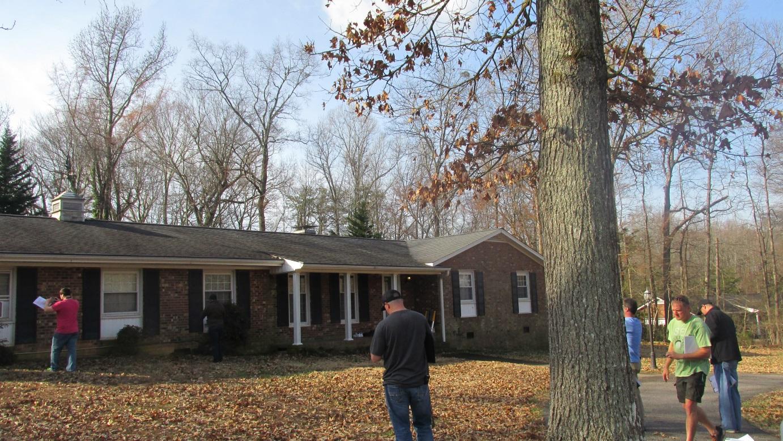 exterior home inspection training north carolina