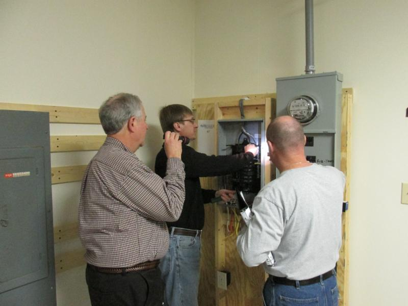 north carolina electrical inspection training lab